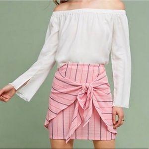Anthropologie - Holding Horses Pink Skirt!